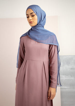Skirted Abaya Berry Aab