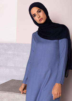 Tunic Top Denim Blue
