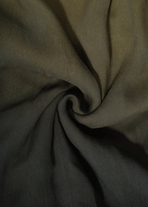Two Tone Bay Leaf Chiffon Silk Hijab