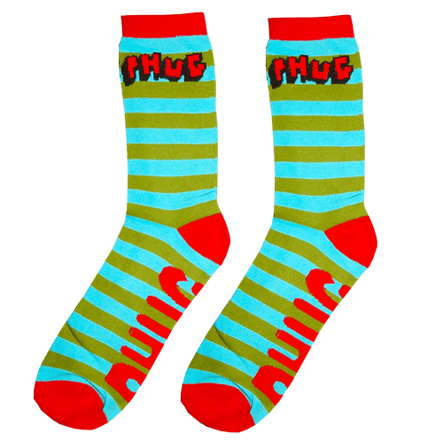PHUG STRIPED SOCKS