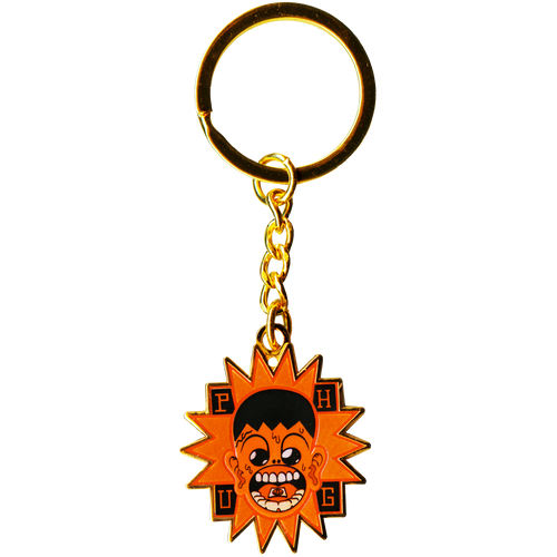 'BLOTTER BOY' GOLD KEYRING CHAIN