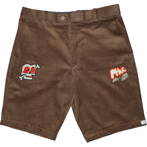 PHUG CORDUROY SHORTS - LIGHT BROWN