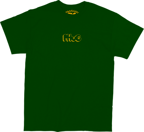 PHUG CLASSIC LOGO T-SHIRT - FOREST GREEN