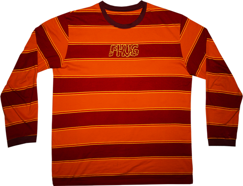 'AUTUMN STRIPES' LONG SLEEVE T-SHIRT
