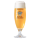 Blonde de Chambly 13oz glass, Footed flute