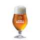 La Fin du Monde 16oz glass, Fluted tulip