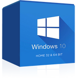 Windows 10 Home 32 / 64 Bit