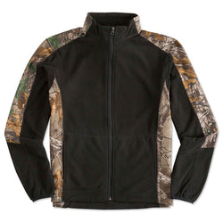 Camo Full-Zip Microfleece Jacket