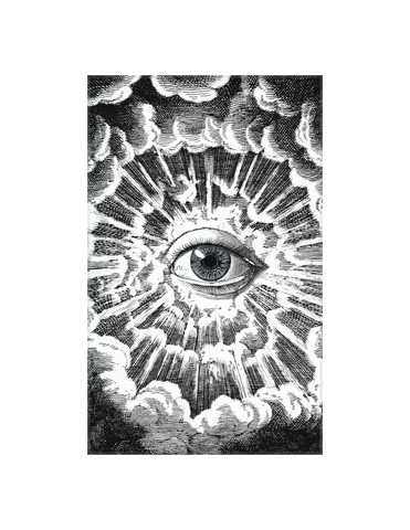 "Eye Cloud - 5 x 8"" rectangle"