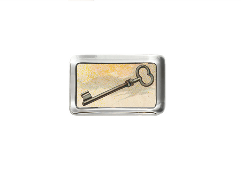 Key - rectangular paperweight