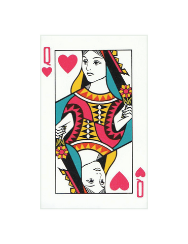 "Queen of Hearts - 5x8"" rectangle"