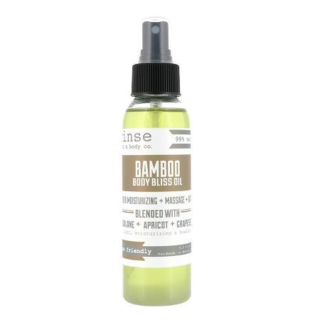 Bamboo Body Bliss Oil - wholesale rinsesoap