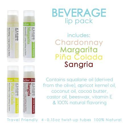 Beverage Lip Pack - wholesale rinsesoap