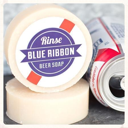 Blue Ribbon Beer Soap - wholesale rinsesoap
