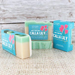 Calla Lily Soap - wholesale rinsesoap