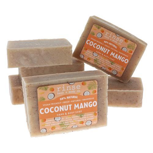 Coconut Mango Soap - wholesale rinsesoap