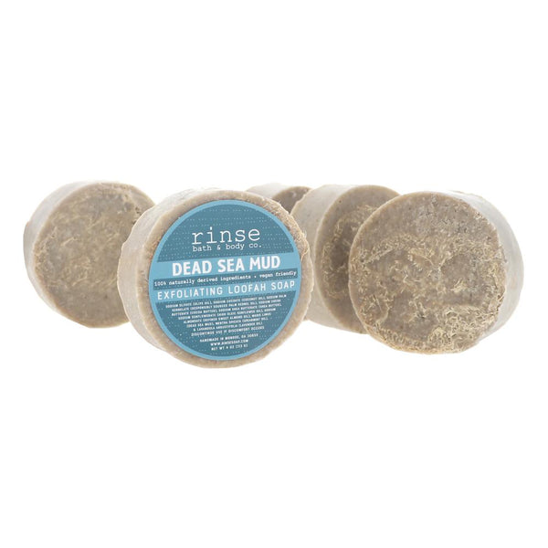 Dead Sea Mud Loofah Soap - wholesale rinsesoap