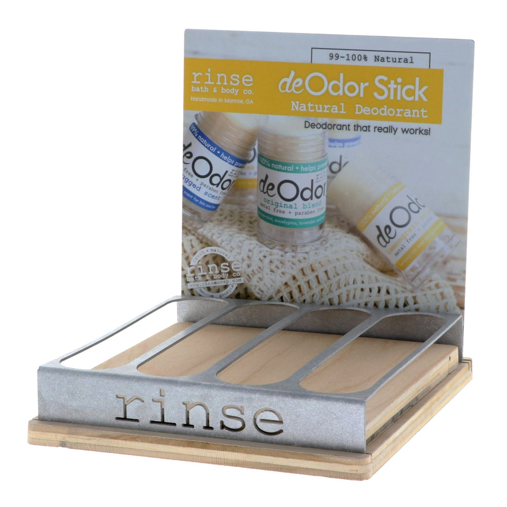 deOdor Stick Display - Filled - wholesale rinsesoap