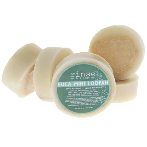 Euca-Mint Loofah Soap - wholesale rinsesoap