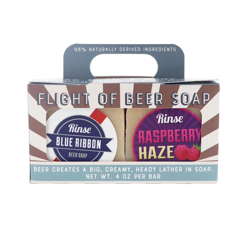 Flight of Beer Soap - wholesale rinsesoap