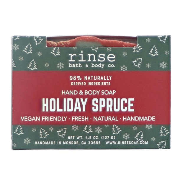 Holiday Spruce Soap 1