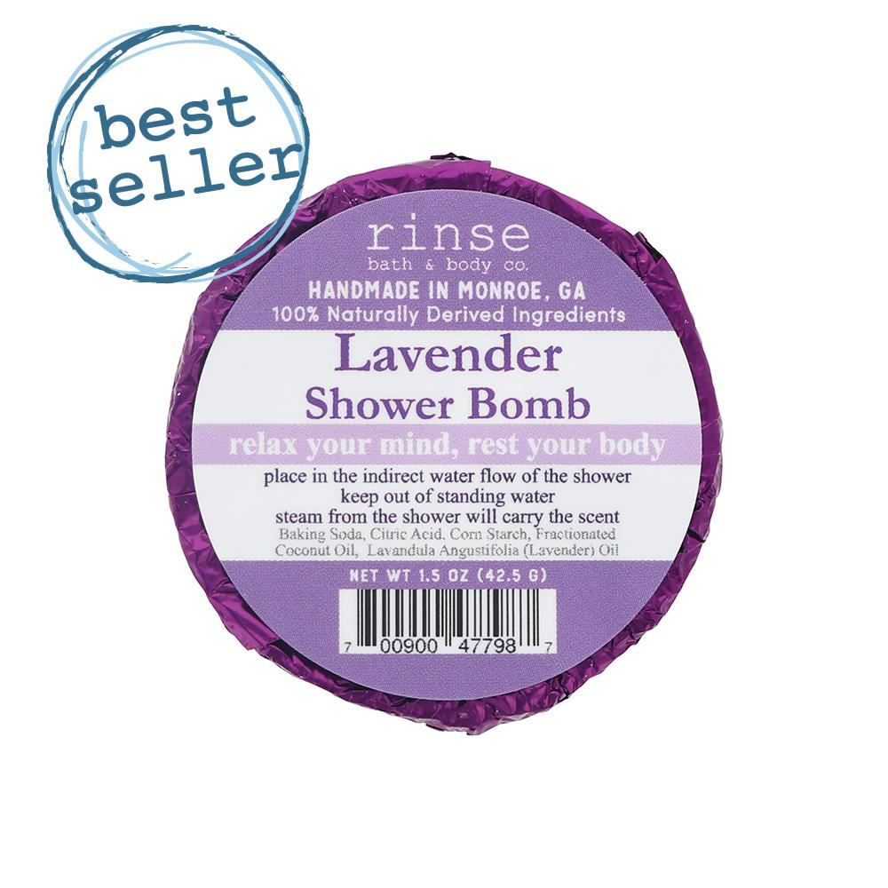 Lavender Shower Bomb - wholesale rinsesoap