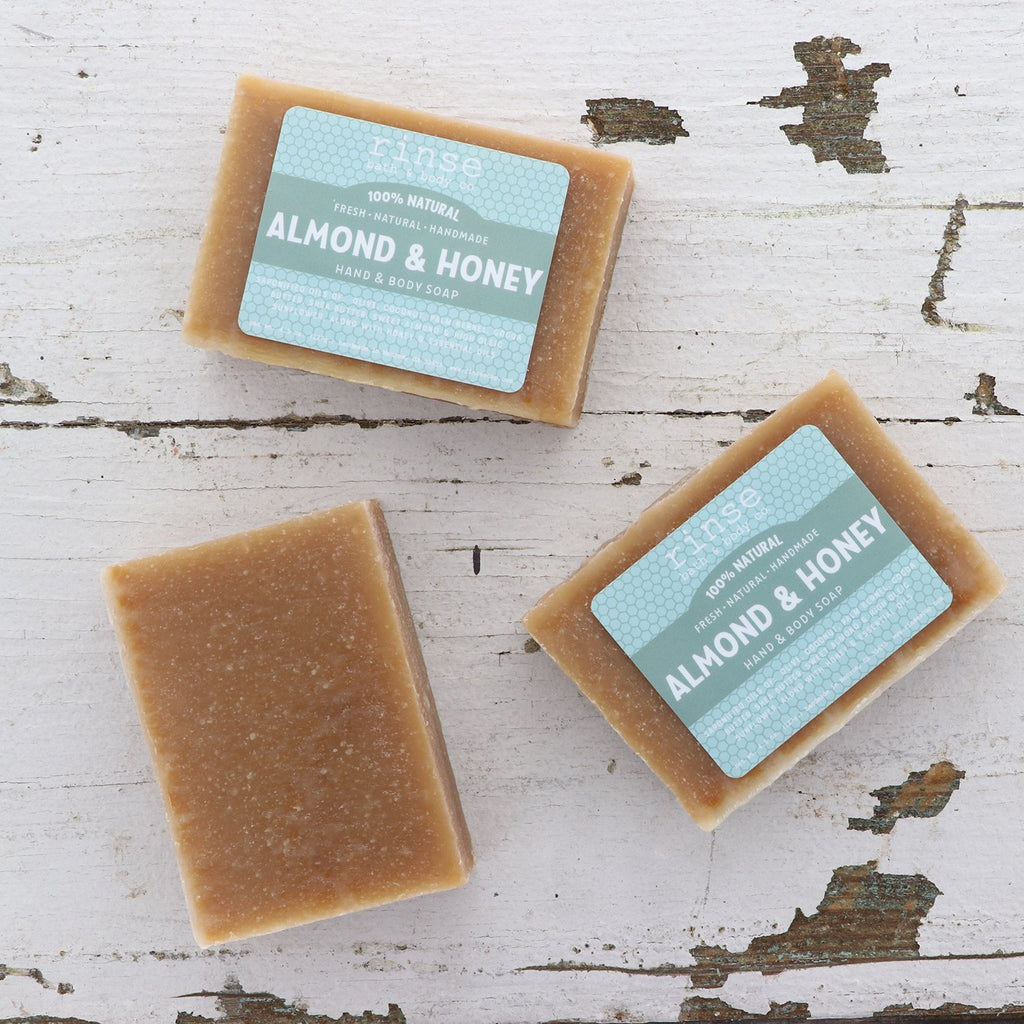 Mini Almond & Honey Soap - wholesale rinsesoap
