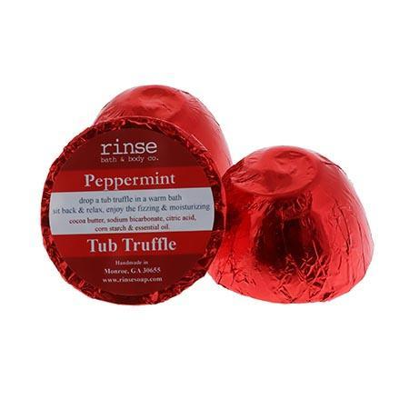Peppermint Tub Truffle - wholesale rinsesoap
