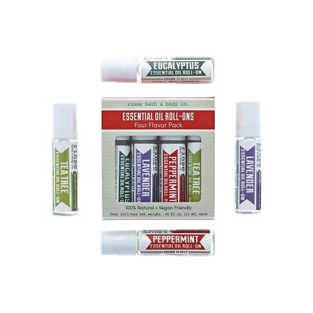 Roll-On Essential Oil 4 Pack - wholesale rinsesoap