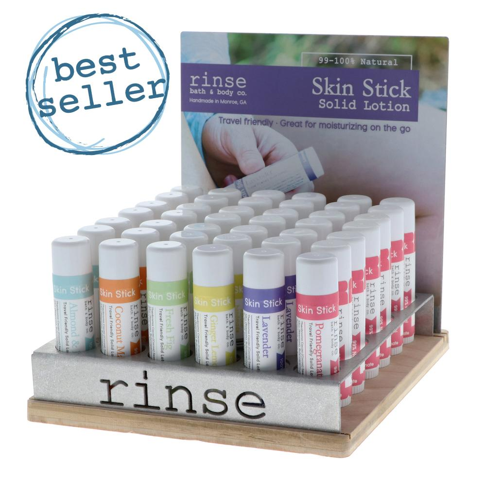 Skin Stick Display - Filled (6 flavor) - wholesale rinsesoap