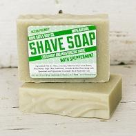 Speppermint Shave Soap - wholesale rinsesoap