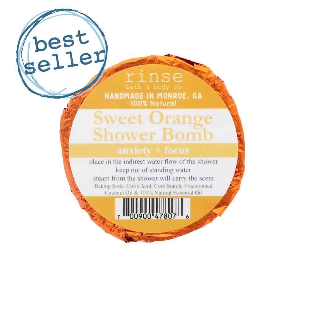 Sweet Orange Shower Bomb - wholesale rinsesoap