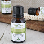 Tea Tree Essential Oil - Certified Organic - wholesale rinsesoap