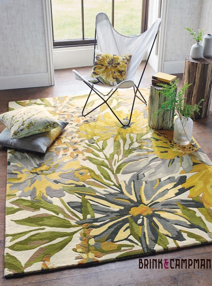 Harlequin Floreale Maize (44906) - The Rug Loft rugs ireland