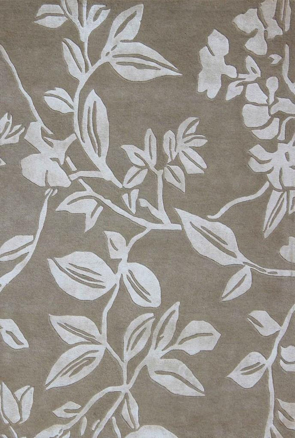 Leaf Trail Mocha - The Rug Loft rugs ireland