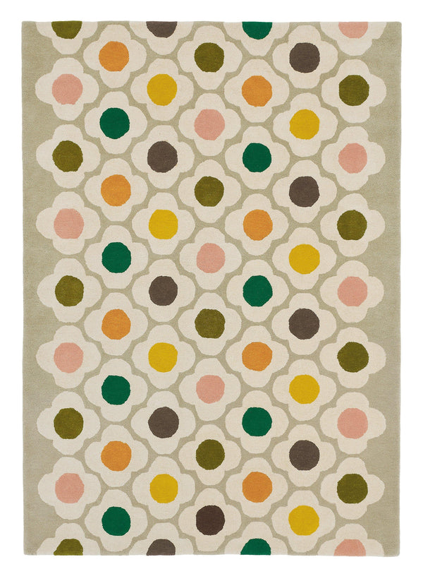 Spot Flower Multi 060404 - The Rug Loft rugs ireland