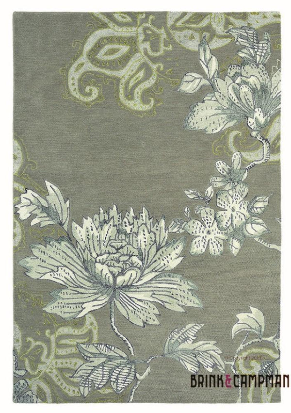 Fabled Floral Grey (37504) - The Rug Loft rugs ireland