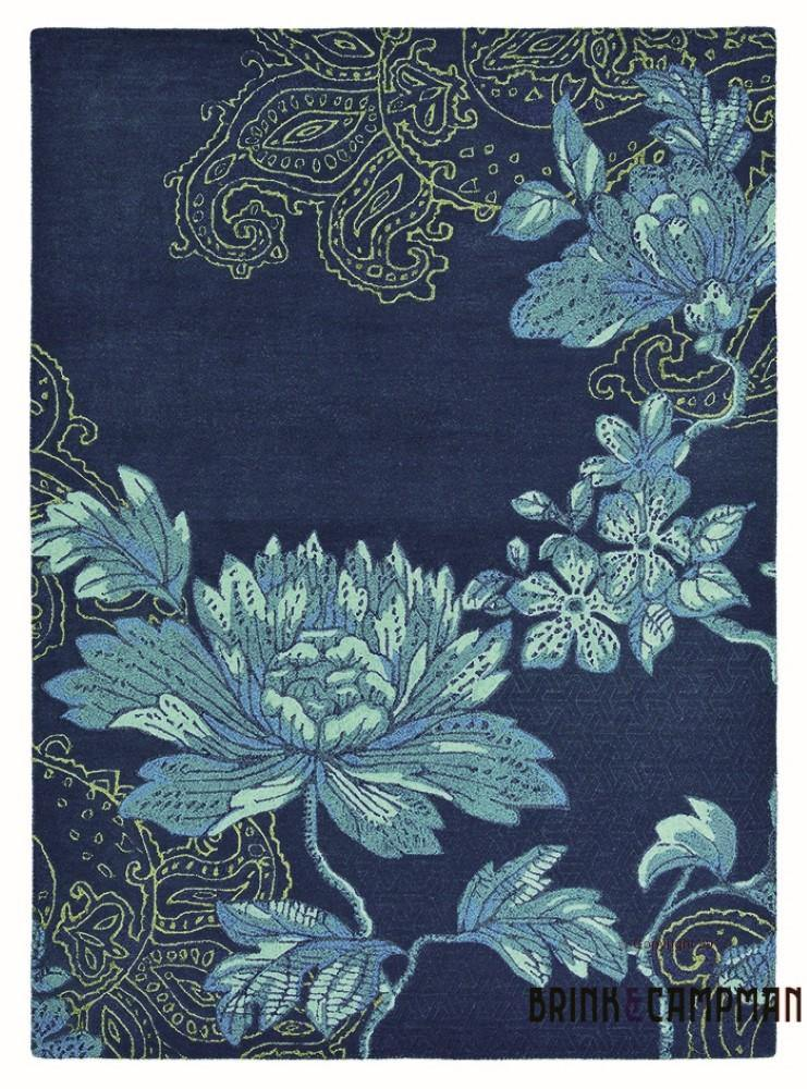 Fabled Floral Navy (37508) - The Rug Loft rugs ireland