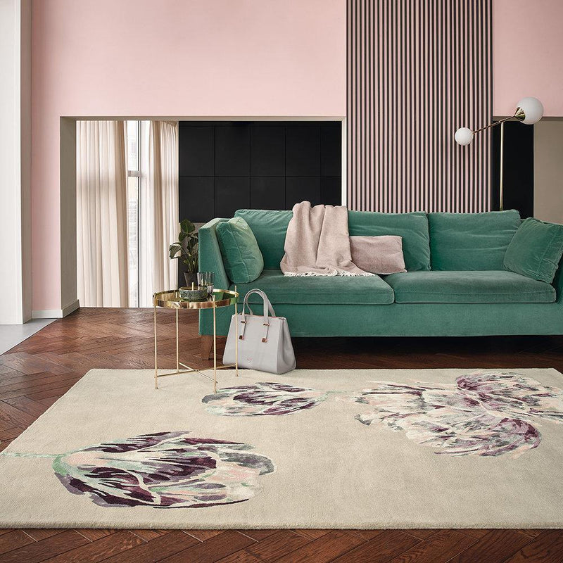 Ted Baker Tranquility Beige 56001 - The Rug Loft rugs ireland