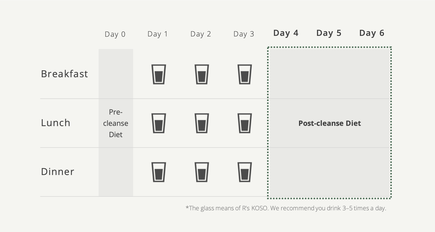 Koso Cleanse - post cleanse recipe