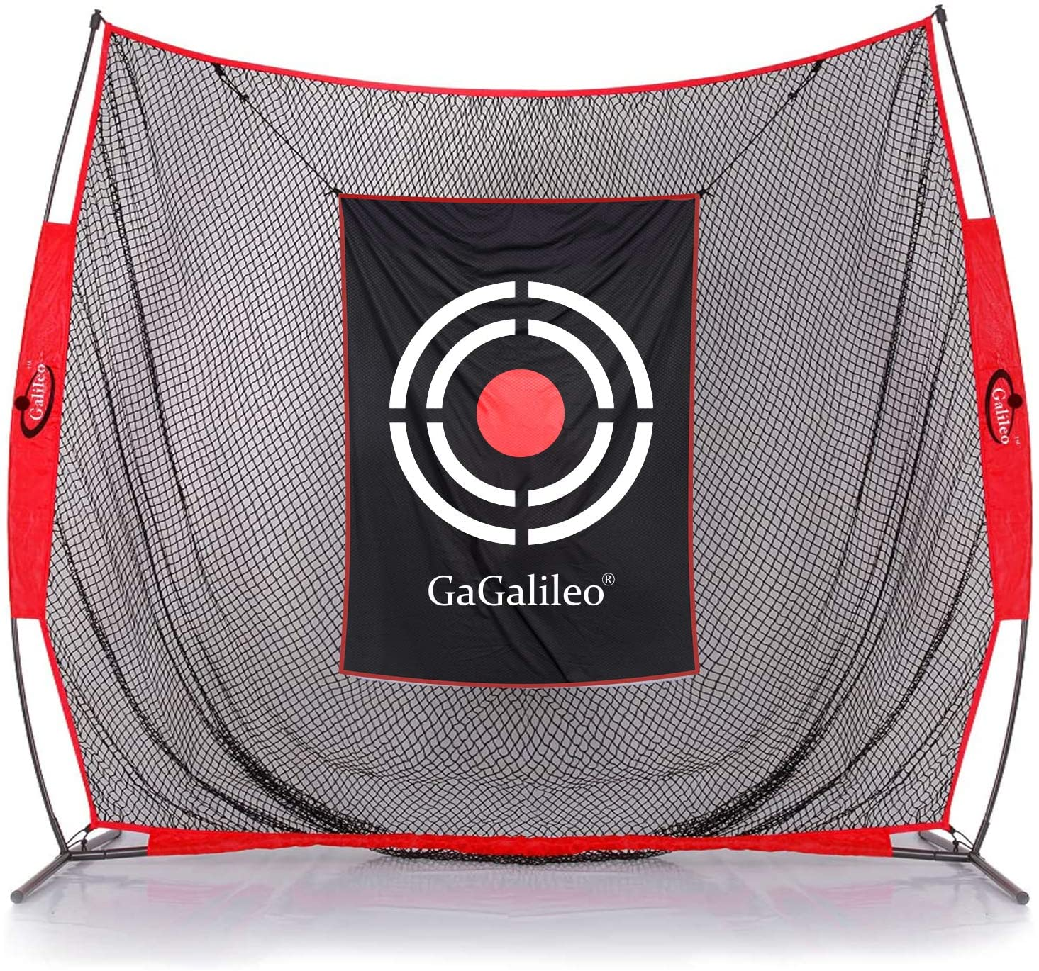 Galileo Golf Practice Net 7x8 Feet Golf Hitting Nets Driving Range Indoor Outdoor Golf Training Aids with Target and Carry Bag