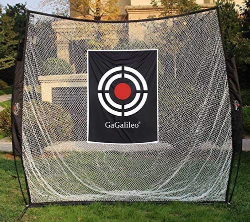 Golf Hitting Net Exercise Equipment Black Large size 12' (L)X7' (H)X6.6' (D)|Galileo