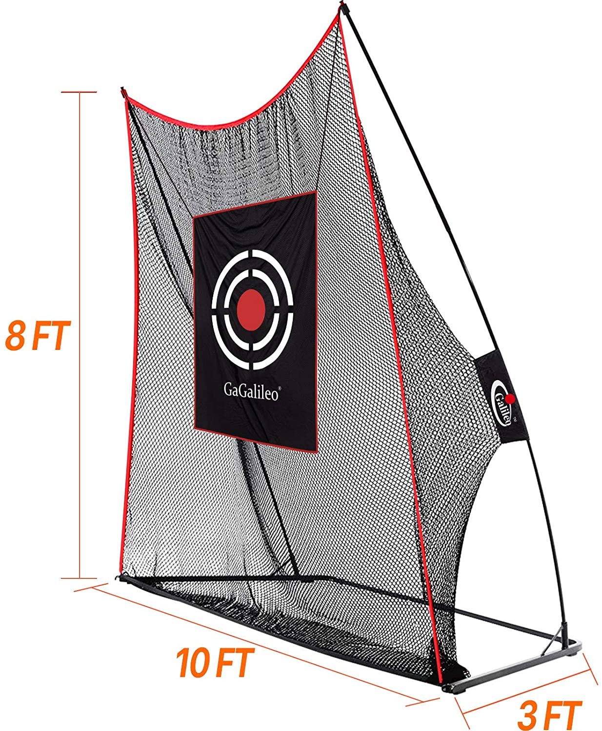 Galileo Golf Practice Net for Backyard Golf Hitting Nets for Indoor with Target and Carry Bag