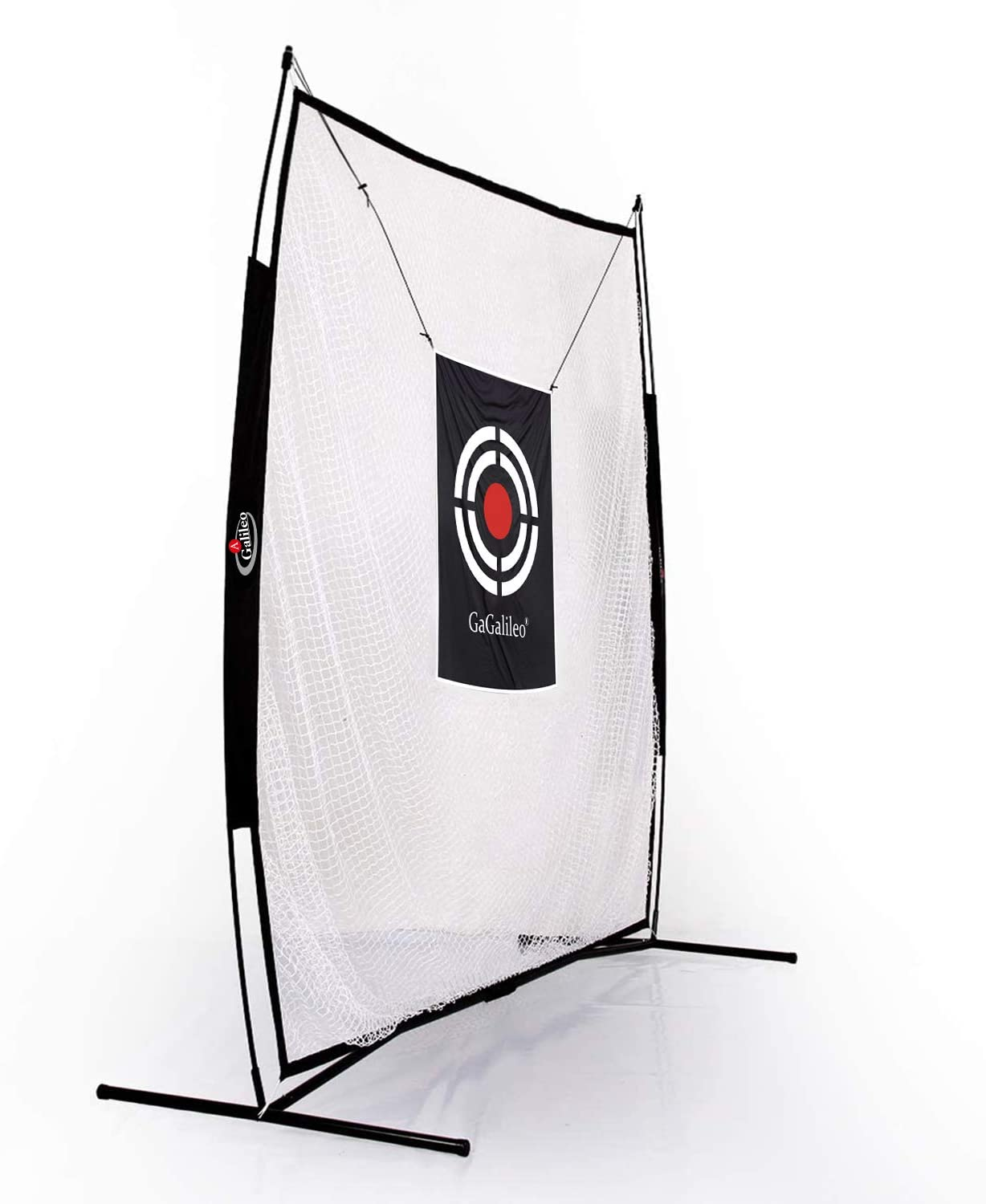 Galileo Golf Practice Net Hitting Nets with Target and Carry Bag | Huge 7'X7'Size