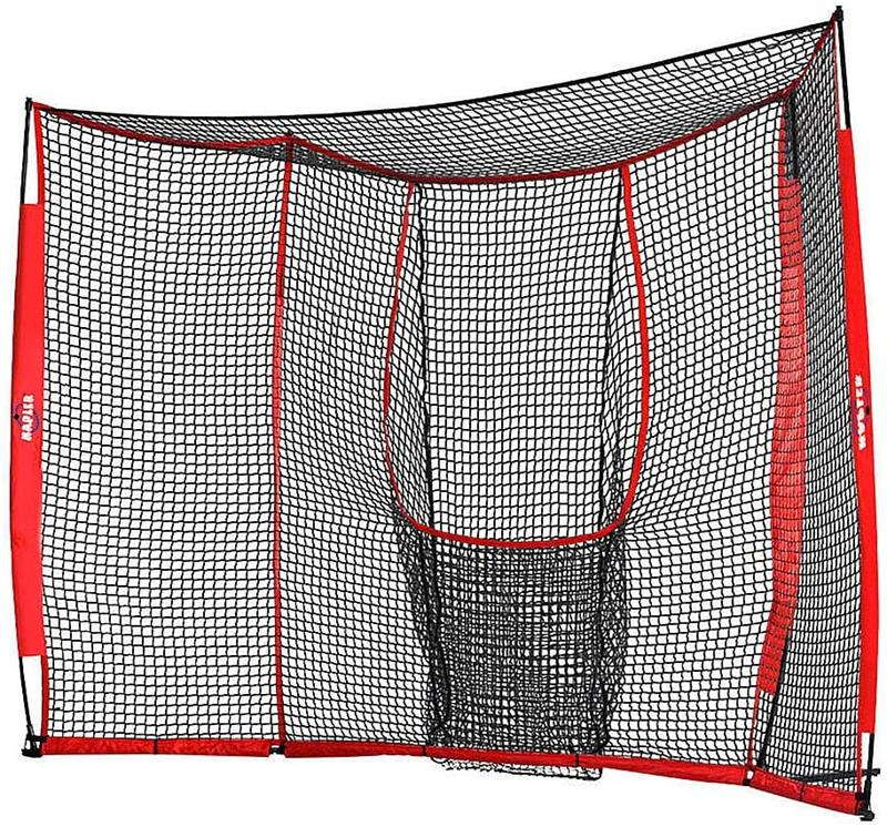 Galileo Baseball&Softball Practice Hitting Pitching Net with Carry Bag | Large Size 12'x8' Size