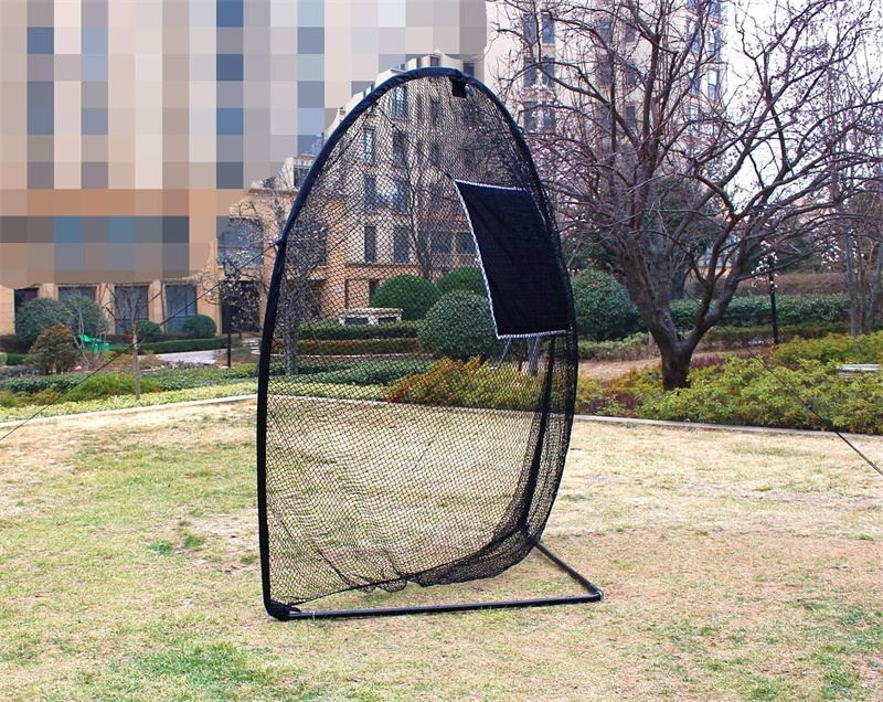 Golf Hitting Net with Target&Carry Bag Portable 8'(L)x8'(H)x3.5'(D)|Galileo