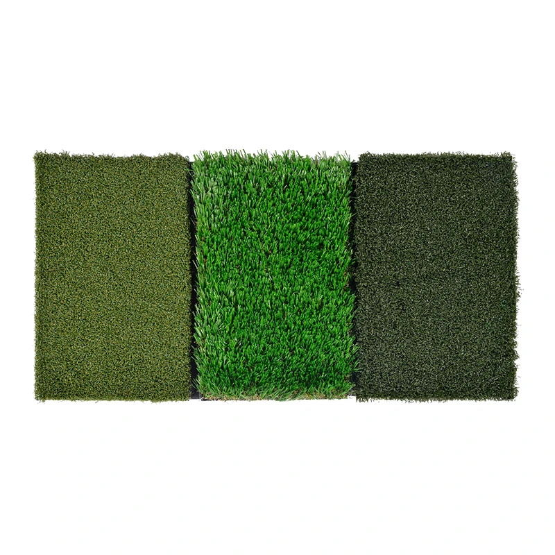 Galileo Golf Putting Mats Golf Turf Grass Mat 3-in-1 Golf Training with Adjustable Tees Equipment | 24''x12''