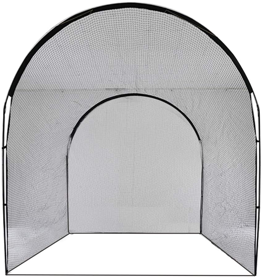 Baseball Batting cage Training Net Outdoor Backyard 13' (L)X10' (D)X10' (H)|Galileo