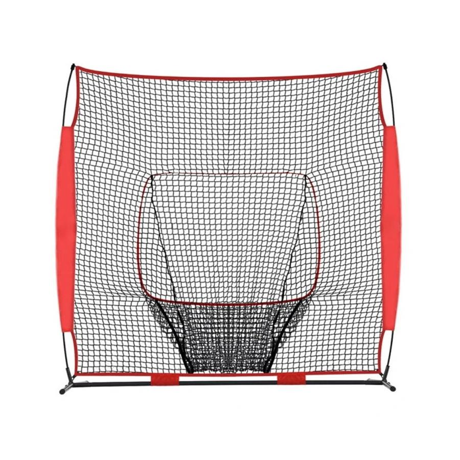 Galileo Baseball&Softball Practice Hitting Pitching Net with Carry Bag | 8'x8' Size