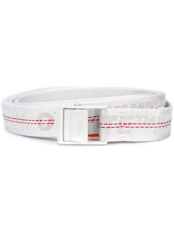 OFF-WHITE INDUSTRIAL LOGO BELT (WHITE)